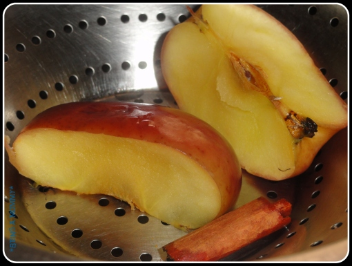 Step 2 - Steaming Apple