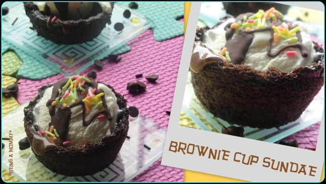 Brownie Cup Sundae