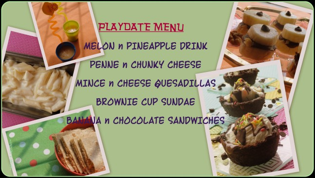 PLAYDATE MENU