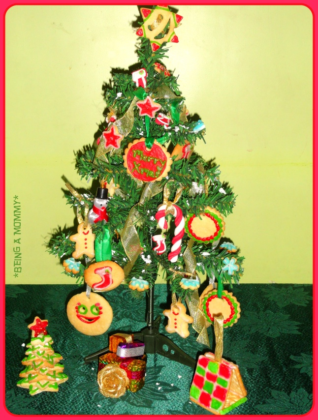 Christmas Tree with Edible Decoration 2