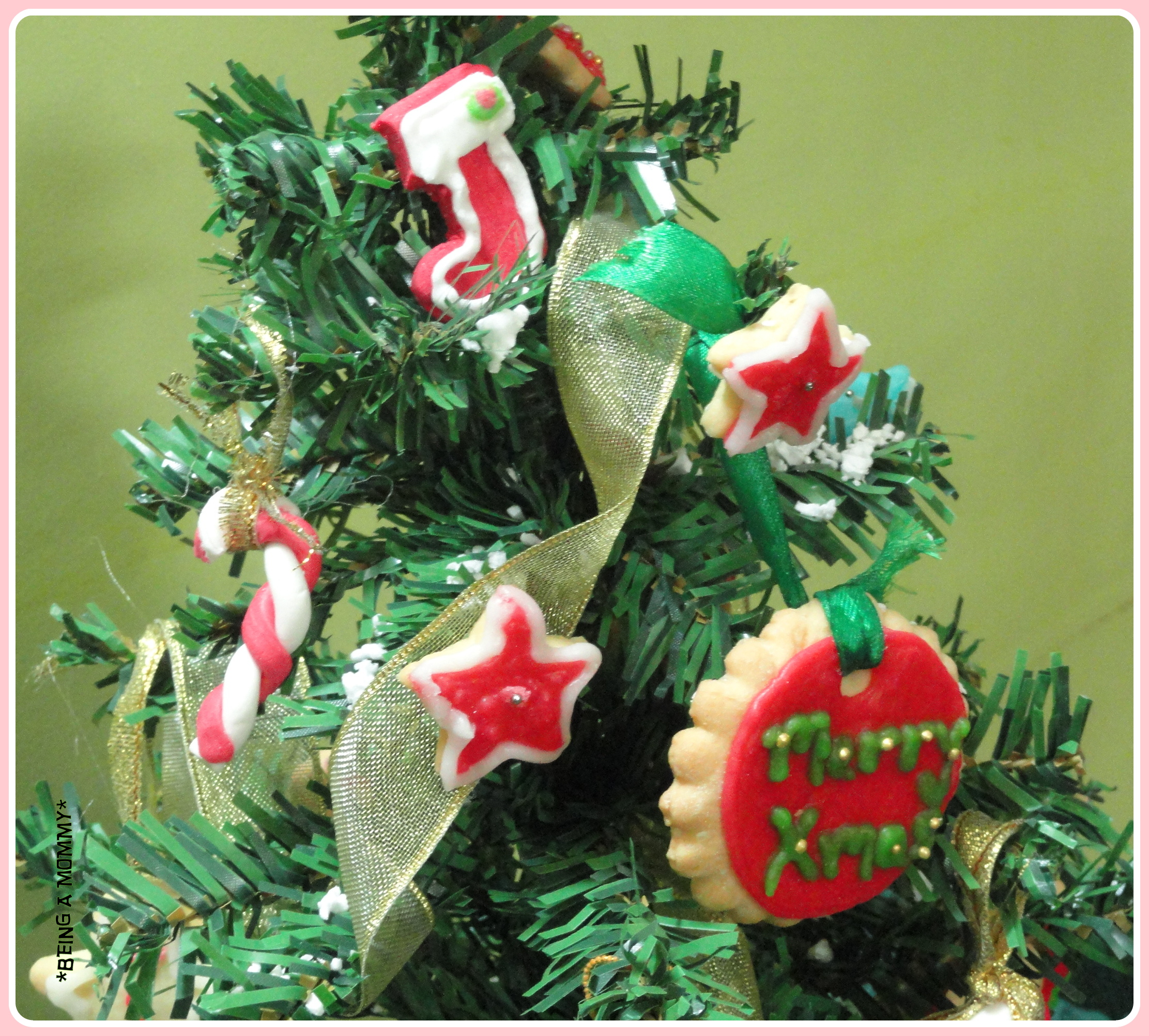 Edible christmas tree decorations post being a mommy