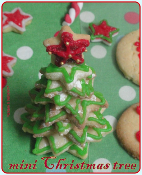 Edible Mini Christmas Tree