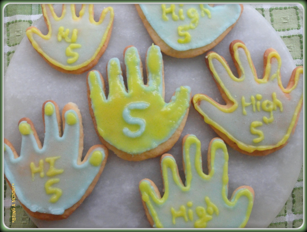 High five cookies 1