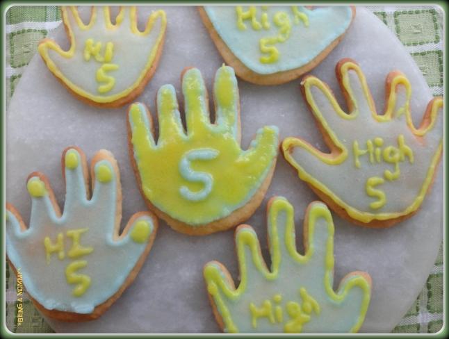 High five cookies 1