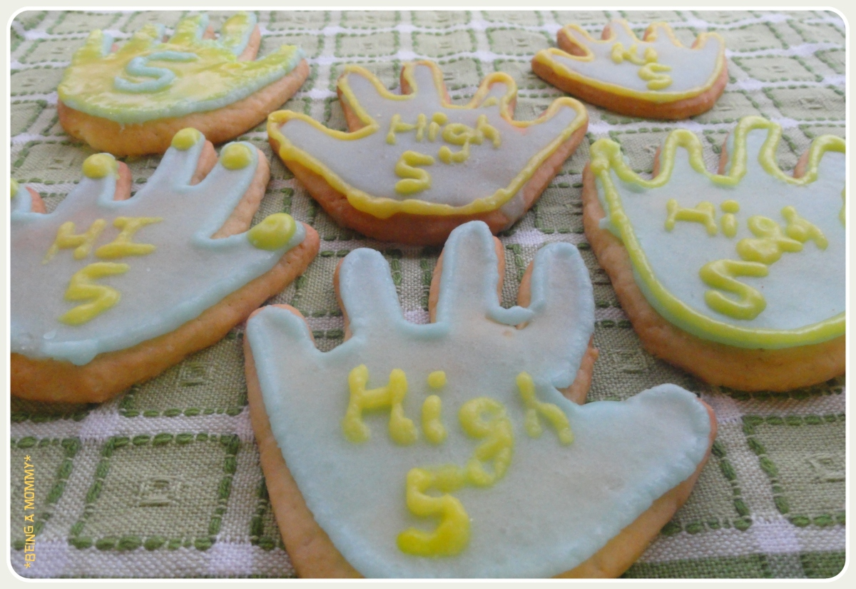 High Five Cookies Post 1 Being A Mommy