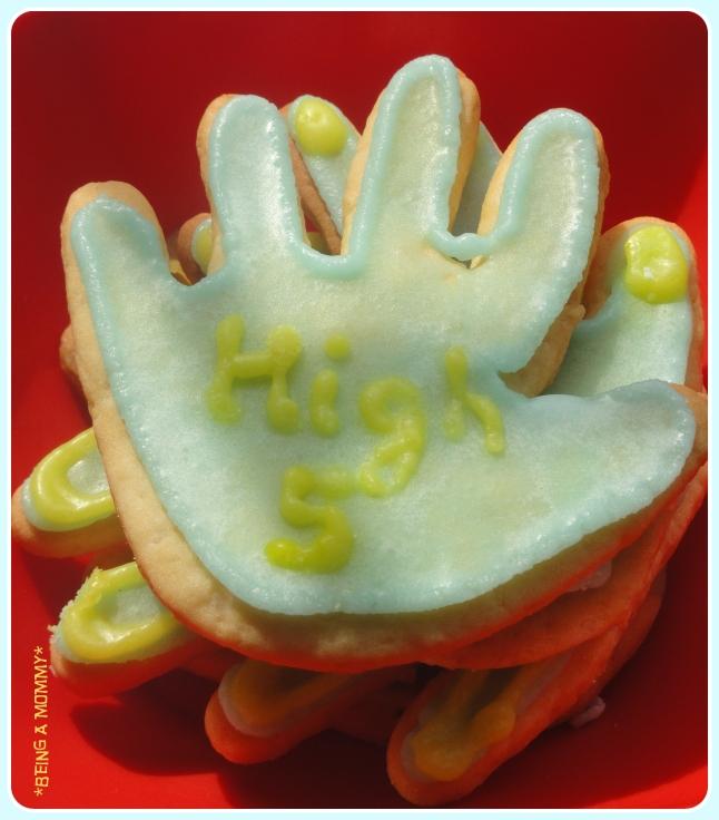 High five cookies 3