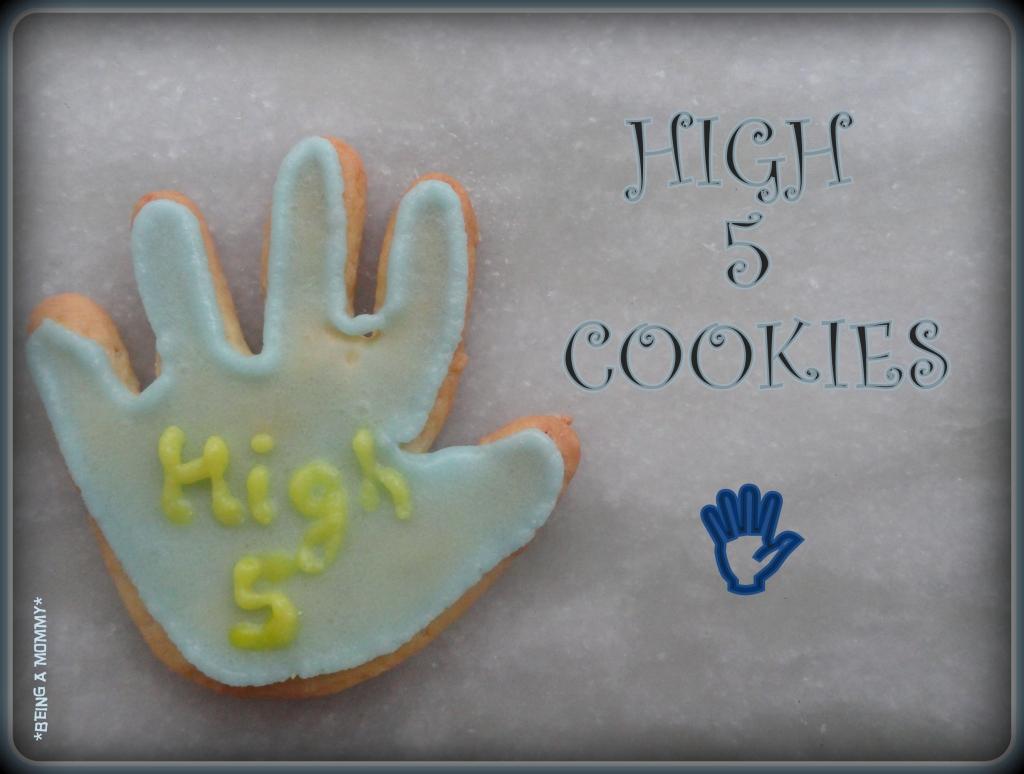 High five cookies