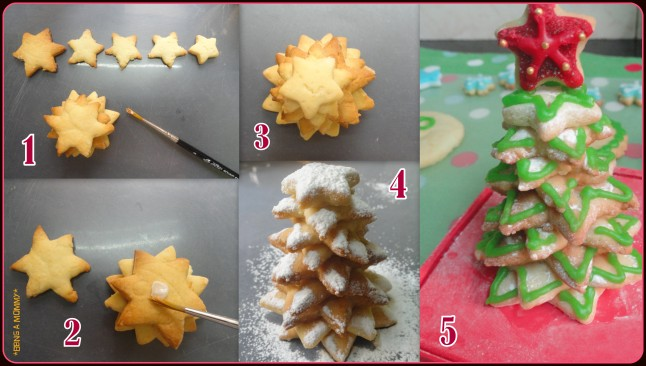 Making Edible Mini Christmas Tree