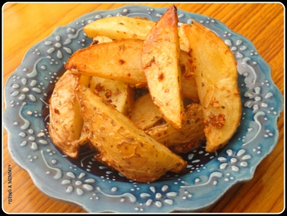 Italian Baked Potato Wedges