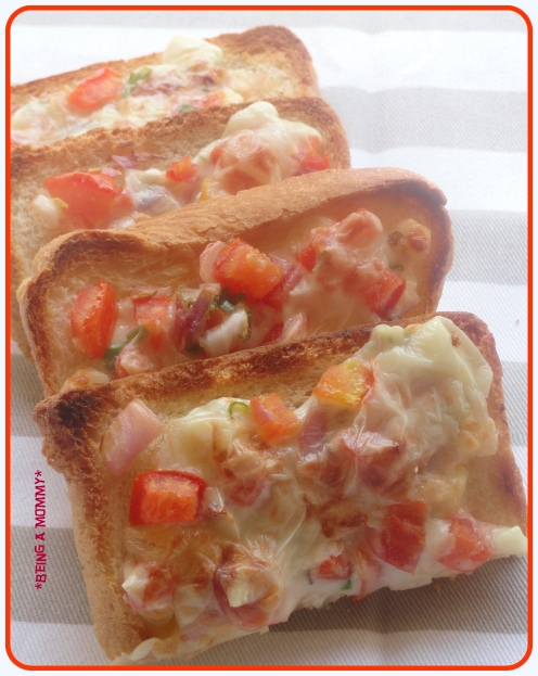 Indian Chilli Cheese Toast