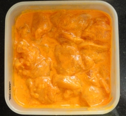 Butter Chicken Marination