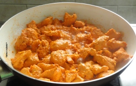 Cooked Butter Chicken