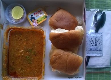 CHICKEN PAV BHAJI