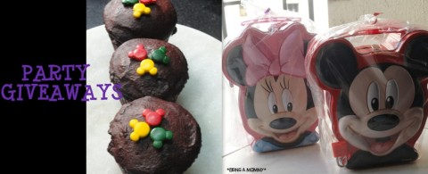 Mickey Party Giveaways
