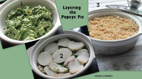 Layering the Popeye Pie