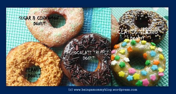 Doughnut toppings