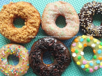 Eggless Homemade Donuts