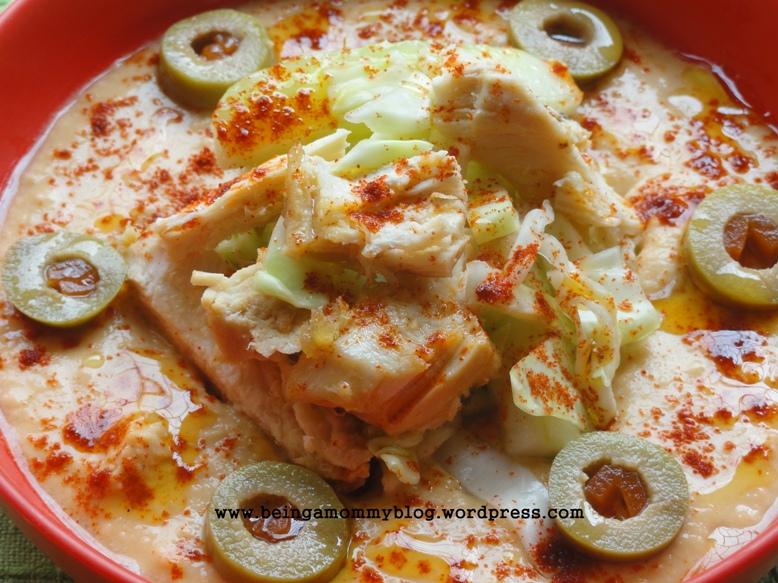 Cardamom Chicken & Hummus Salad