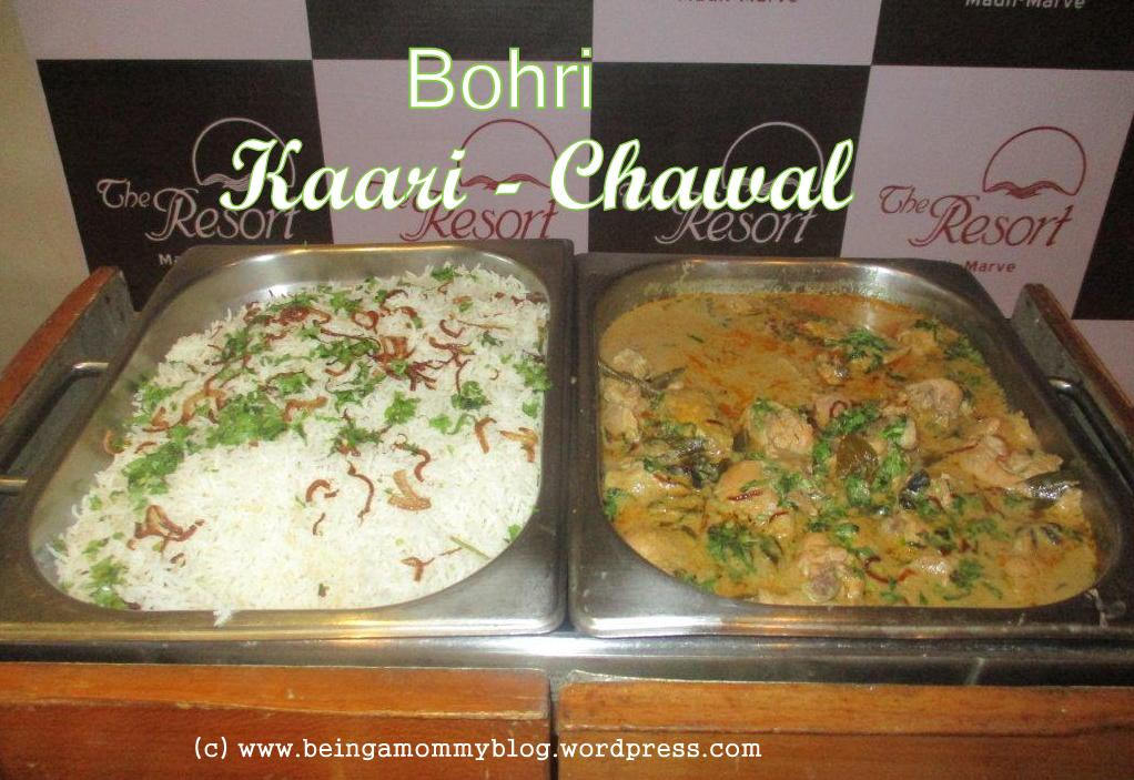 Traditional bohri food being a mommy kaari chawal forumfinder Choice Image