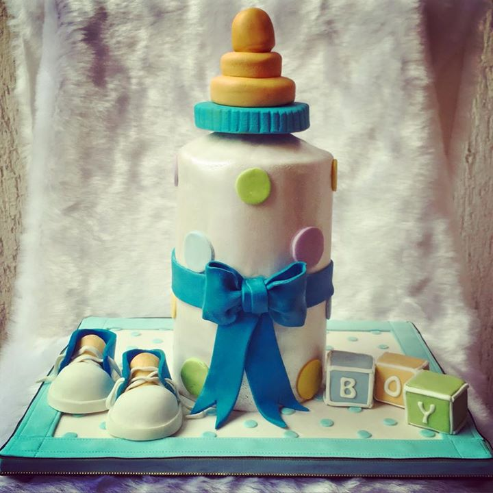 Milk Bottle Cake
