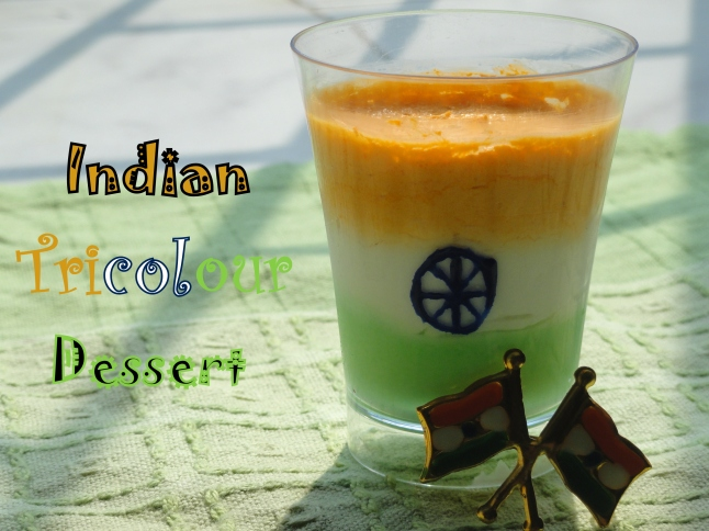 Indian Tricolor Dessert