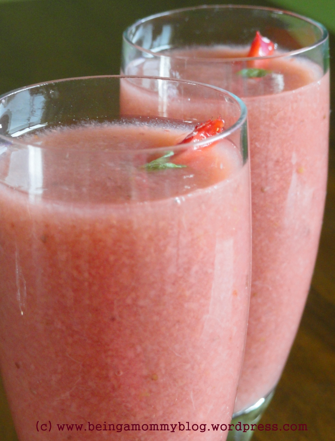 Strawberry & Guava Juice