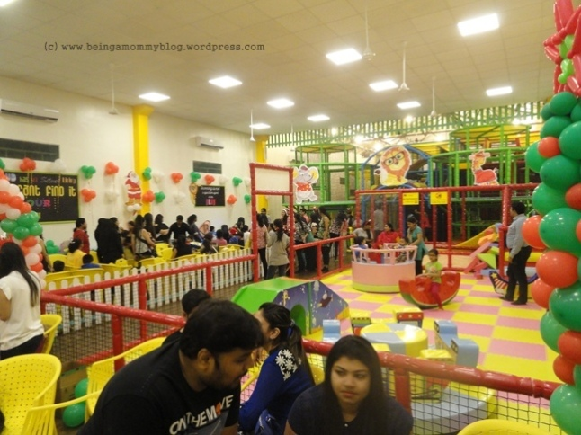 Review – The Riot Room, Thane – Being a Mommy