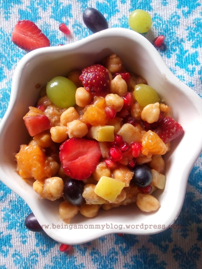 indian fruit chaat