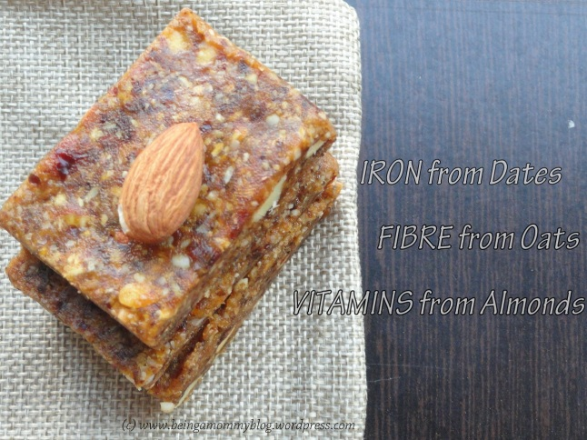 3 ingredient energy bar