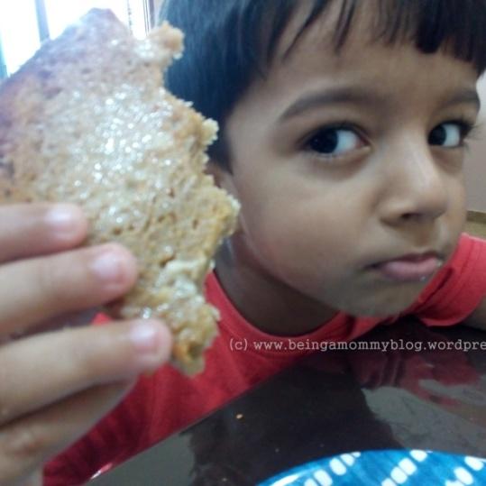 enjoying bread 1