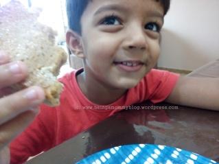 enjoying bread 3