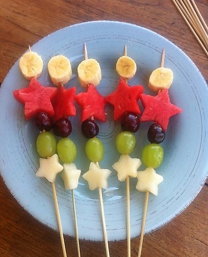 fruit-skewers
