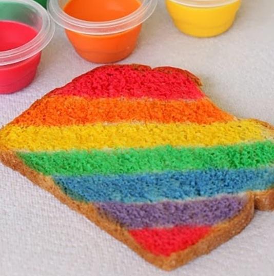 rainbow-toast