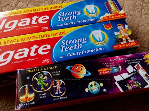 colgate space pack