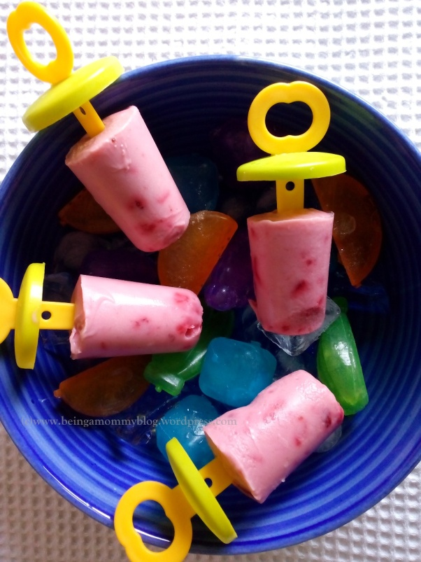 fruit lollies