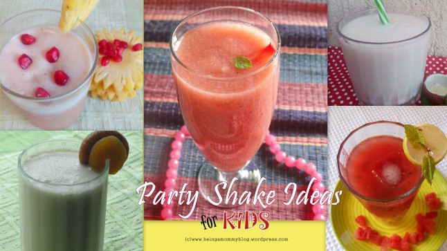 party shake ideas