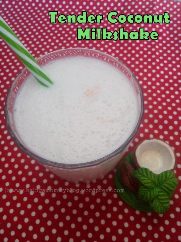 tender coconut milkshake