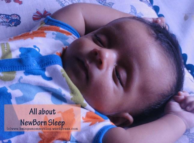 all about new born sleep